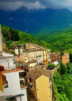 in the Abruzzo hills